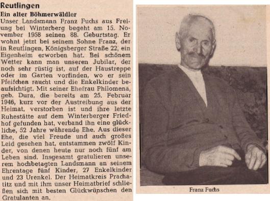 O jeho dědečkovi i s podobenkou