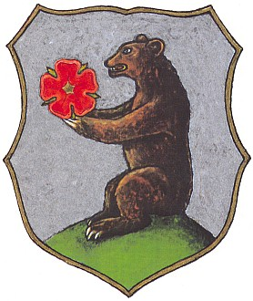 Znak Horní Plané na kresba Eduarda Brazdy...