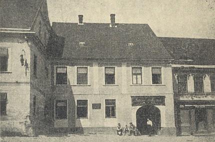 Rodný dům v Benešově nad Černou