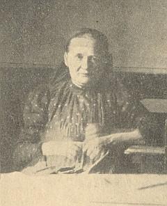 Maminka Josefa Gangla ve stáří...