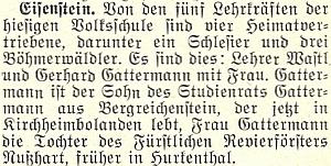 Na stránkách krajanského měsíčníku se v červnu roku 1958 o ní objevila tato zmínka