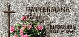 Hrob na hřbitově v Bavorské Železné Rudě