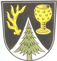 Znak obce Bavorská Železná Ruda