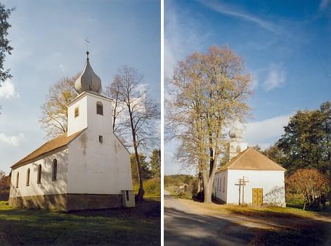 Renovovaná kaple Svaté Rodiny v Hartunkově