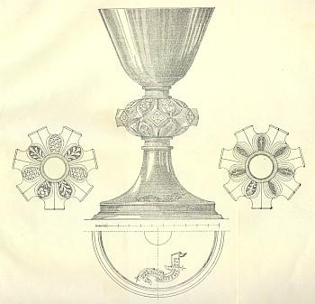 Kalich z 15. století patřil k inventáři kostela v Boleticích
