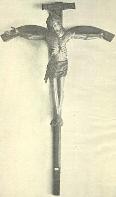 Kříž z poloviny 15. století z boletického kostela