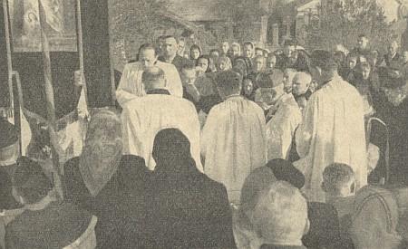 Pohřeb v Kájově