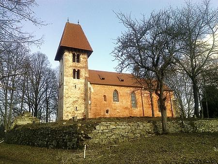 Opuštěný boletický kostel dnes