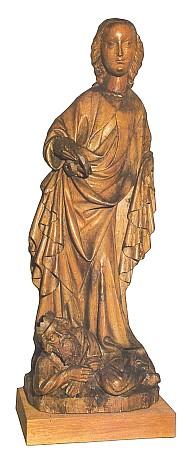 Svatá Kateřina z Boletic, dnes v Alšově jihočeské galerii