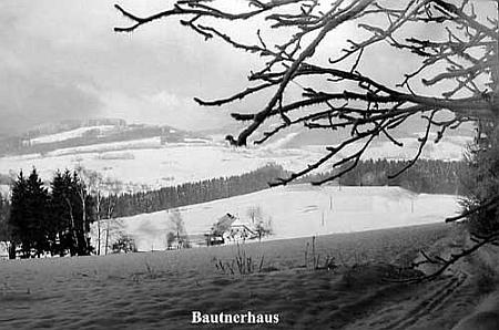 """Bautnerhaus"" v zimě"