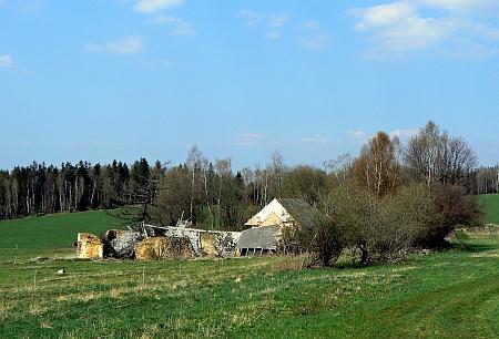 """Zanikající Ktiška (Lichteneck), v německém místním jméně znamenající """"světlý kout"""""""