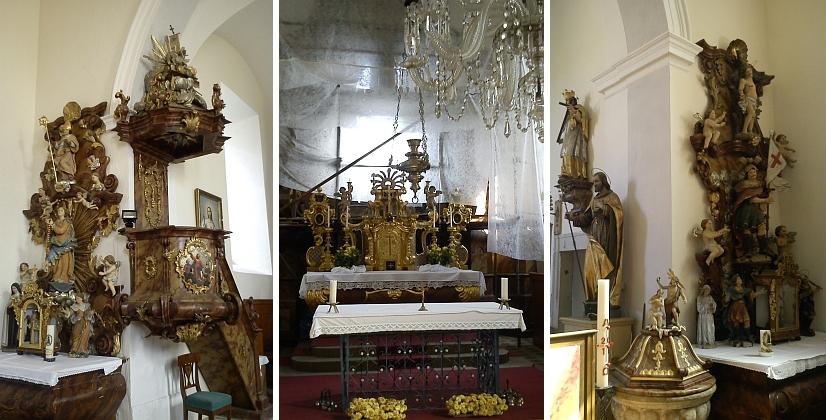 ... a v roce 2011, hlavní oltář byl právě rekonstruován (viz i Jürgen Thorwald a Johann Weiss)