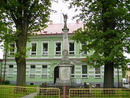 Budova školy v Rychnově nad Malší (viz i Maria Watzliková)