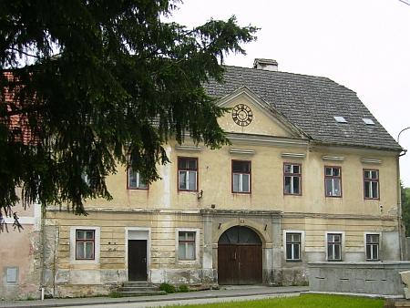 Bývalá radnice v Rychnově nad Malší