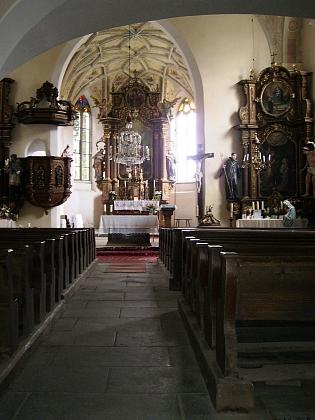 Kostel sv. Michaela Archanděla v Horním Dvořišti