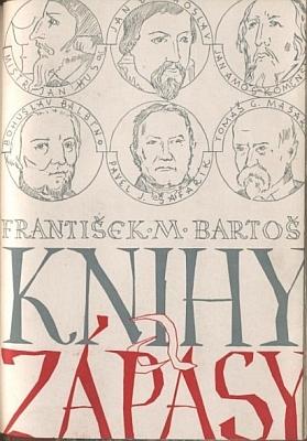 Obálka Bartošovy knihy (Husova československá evangelická fakulta v Praze, 1948)