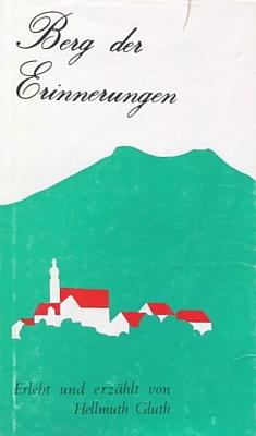 """Obálka (1978) jeho knihy vzpomínek s podtitulem """"am Arber und um ihn herum"""", tj. """"na Javoru a kolem něj"""", vydané nakladatelstvím Musen-Verlag veStuttgartu"""