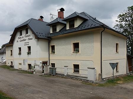 Současný Dům sv. Vintíře v Dobré Vodě