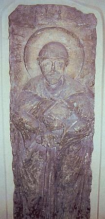 Náhrobek Vintířův vbřevnovském klášteře v Praze