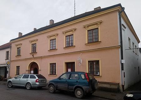 Rodný dům čp. 43 a na novohradském náměstí