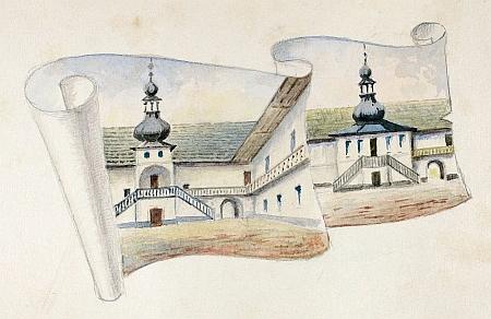 Z jeho ilustrací ke knize Antona Teichla