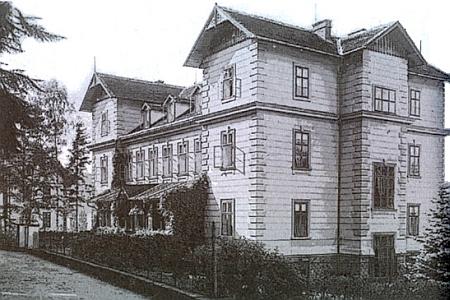 Vila Karolina na počátku 20. století