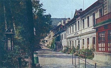Lázeňská kolonáda kolem roku 1900