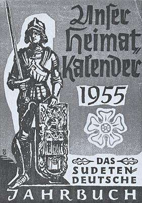 Na rok 1955, kdy se Görgl stal nositelem Sudetoněmecké kulturní ceny za svou lyriku, vyšel ve stejném vydavatelství jako list Sudetendeutsche Zeitung i tento krajanský kalendář s grafikou Maxe Geyera na obálce, zpodobující vedle Vítkovy pětilisté růže i Bruncvíkovu sochu při Karlově mostě (pochází z roku 1884 a jejím autorem je český sochař Ludvík Šimek)