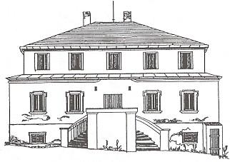 Patrový barokní zámeček, který dal postavit Kašpar Leopold Perglár z Perglasu a jehož posledním šlechtickým majitelem byl kníže Windischgrätz, v dnešním stavu - mansardová původní střecha byla stržena roku 1977