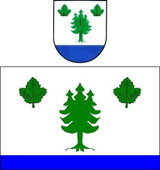 Znak a vlajka obce Tisová