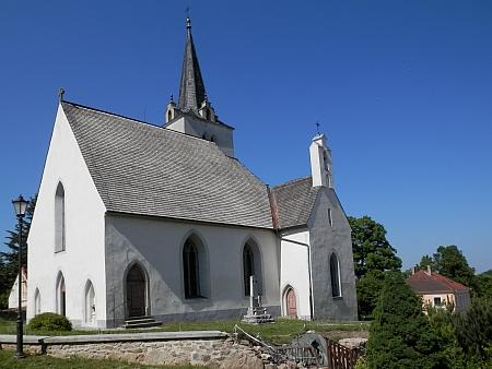 Kostel  sv. Vavřince v rodném Přídolí