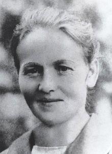 Její matka Theresia, roz. Kerschbaumová