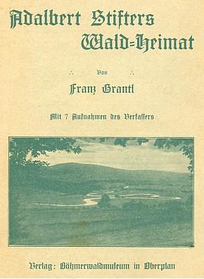 Obálka s autorovým vlastním snímkem Srdce Vltavy, knihu vydalo Böhmerwaldmuseum v Horní Plané