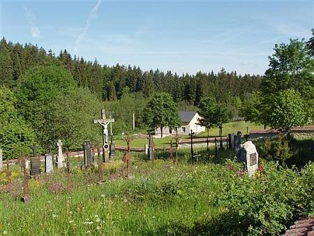 Hřbitov v Pohorské Vsi