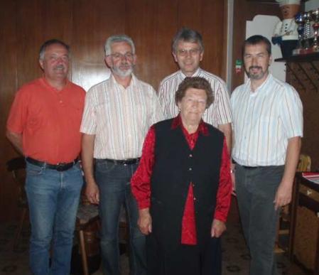 Při oslavě 90. narozenin