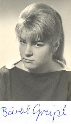 Foto z let, kdy psala své mladistvé práce