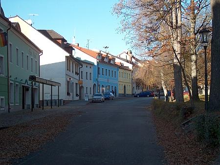 Dnešní podoba místa, kde stával dům Greiplových