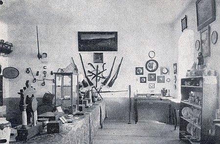 Vlastivědné muzeum ve Frymburku, které po slavnosti v roce 1928 vzniklo především její zásluhou