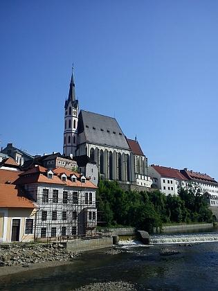 Český Krumlov v létě 2013