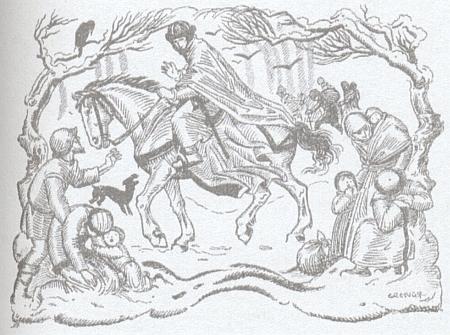 """Vyzdobila ilustracemi i Watzlikovu prózu """"Die Chronik des Herrn Wolf Silber"""""""