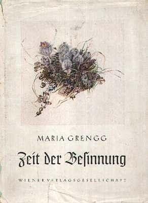 Obálka (1939) její knihy vydané ve Vídni nakladatelstvím Luser
