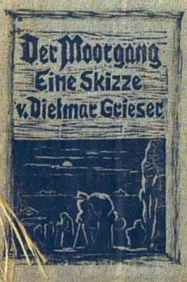 Obálka (1953) jeho prvotiny, vydané vlastním nákladem v sárském městě Zweibrücken
