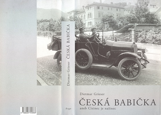 Na obálce českého překladu jeho knihy, vydaného v roce 2011 nakladatelstvím Argo, sedí Sidonie Nádherná vedle Karla Krause za volantem vozu, který stojí před velkou cestou ještě ve Vrchotových Janovicích