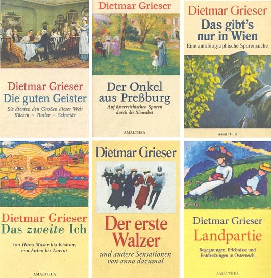 Obálky dalších jeho knih z nakladatelství Amalthea ze stránky věnované jeho osmdesátinám v ústředním krajanském listě