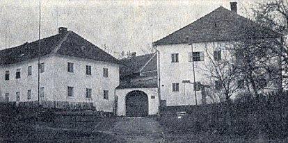 """""""Boirhaus"""" v někdejším Dětochově (viz i Artur Quitoschinger)"""
