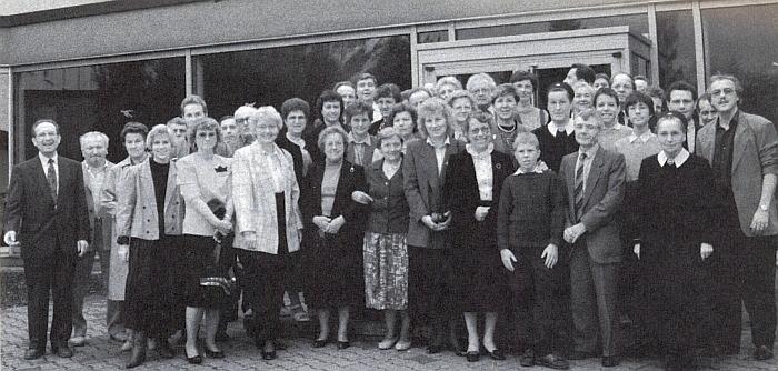 Setkání rodin z někdejší farnosti Stein po politickém obratu v roce 1989, konané v září roku následujícího     u města Rottenburg am Neckar v německé spolkové zemi Bádensko-Württembersko