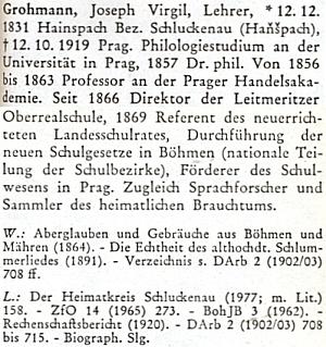 ... a v biografickém lexikonu k dějinám českých zemí