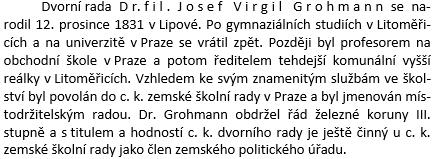 O něm v českém překladu německé vlastivědy okresu Šluknov zroku 1898