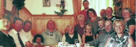 V kruhu rodiny o svých devadesátinách