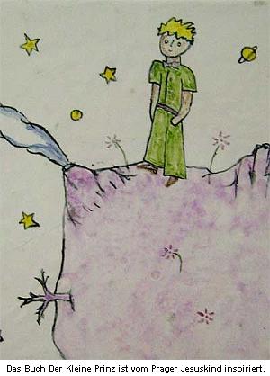 Německé webové stránky o milostné sošce neopomenou informovat, že byla inspirací světoznámého Malého prince